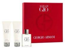 Giorgio Armani Acqua di Gio M 100ml + ASB 50ml + SG 50ml SET