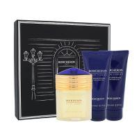 Boucheron Pour Homme dárková kazeta pro muže parfémovaná voda 100 ml + balzám po holení 100 ml + sprchový gel 100 ml