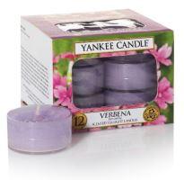 Yankee Candle čajové svíčky 12 x 9,8g Verbena
