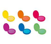 Dermacol Neon barevný pudr na vlasy leskle černý 2,2 g