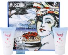 Moschino Funny W EDT 4ml Edt 4ml + 25ml tělový gel + 25ml sprchový gel