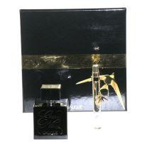 Lalique Encre Noire Pour Elle EDP W 100ml +EDP 10ml  SET