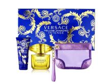 Versace Yellow Diamond Intense W EDP 90ml + BL 100ml + kabelka SET