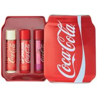 Lip Smacker Coca-Cola Small Can Tin Box 3pcs