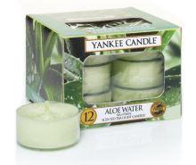 Yankee Candles čajové svíčky 12 x 9,8g Aloe Water