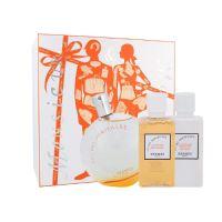 Hermes Eau Des Merveilles dárková kazeta pro ženy toaletní voda 100ml + tělové mléko 40 ml + sprchový gel 40 ml