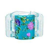Linziclip Midi Hair Clip 1ks - Turquoise Pearl Flowers