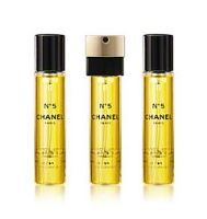 Chanel N°5  Recharges Purse Spray Refills EDT 3x20ml