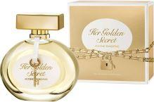 Antonio Banderas Her Golden Secret Toaletní voda 80ml W