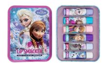Lip Smacker Disney Frozen Tin Box balzám na rty 6 ks