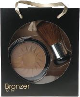 Makeup Trading Bronzer Sun Set 14g W 14g Bronzing Powder + Brush