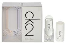 Calvin Klein CK2 100ml U EDT 100ml + deostick 75ml
