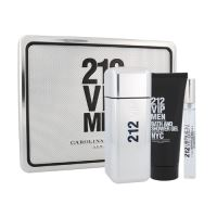 Carolina Herrera 212 VIP Men 100ml M Edt 100ml + 100ml sprchový gel + 10ml edt
