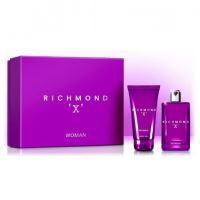 John Richmond X for Woman dárková sada I. toaletní voda 75 ml + sprchový gel 150 ml