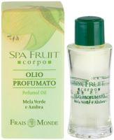 Frais Monde Spa Fruit Green Apple And Amber Parfémovaný olej 10ml W