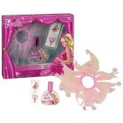 Barbie Pink Shoes EDT 30ml + Tutu Ruber Band + Tattoo SET