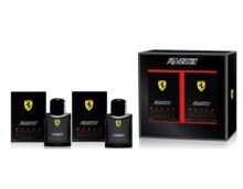Ferrari Scuderia Black Signature M EDT 75ml + After Shave Lotion 75ml SET