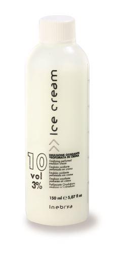 Inebrya Krémová parfémovaná okysličená emulze 10 Vol. (3%) 150ml