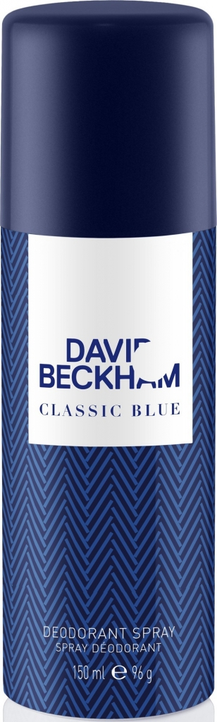 David Beckham Classic Blue Deodorant 150ml M