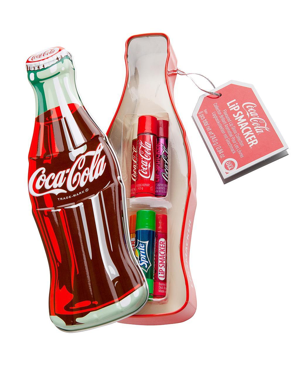 Lip Smacker Coca-Cola Vintage Bottle 6pcs