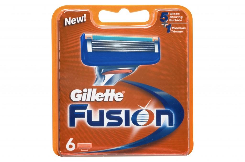 Gillette Fusion 6ks