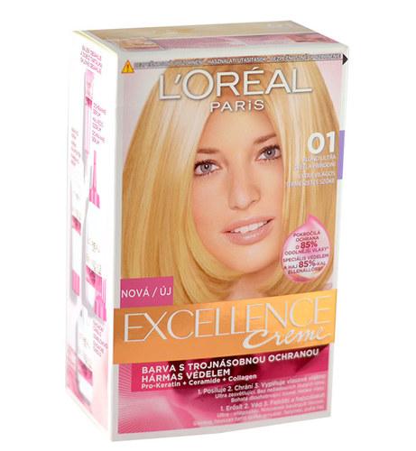 L´Oréal Paris Excellence Creme Hair Colour 1ks W 01 Lightest Natural Blonde