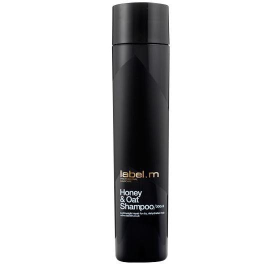 Honey & Oat Shampoo 300ml/šampon na bázi medu a ovsa pro přirozené suché dehydrované vlas