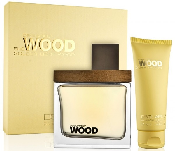 Dsquared2 She Wood Golden Light Wood W EDP 50ml + BL 100ml SET