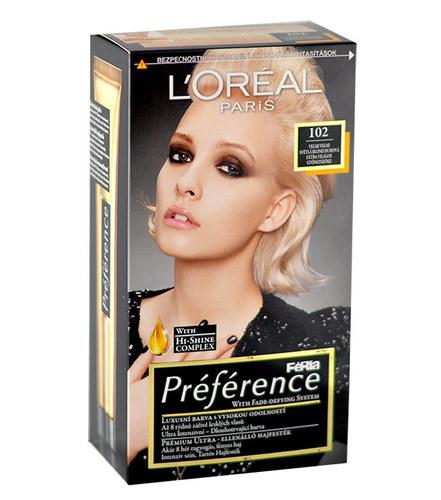 L´Oréal Paris Préférence Féria Hair Colour 1ks W