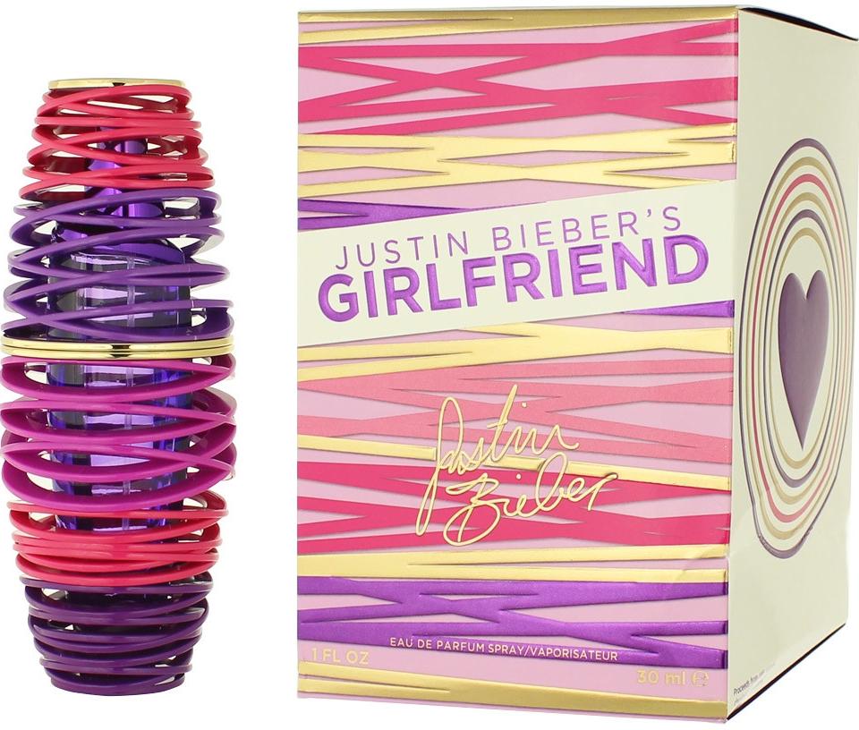 Justin Bieber Girlfriend Parfémovaná voda 30ml W