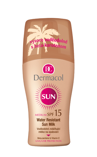 Dermacol Sun Milk Spray SPF15 200ml W