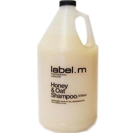 Honey & Oat Shampoo 3750ml/šampon na bázi medu a ovsa pro přirozené suché dehydrované vlas