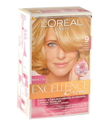 L´Oréal Paris Excellence Creme Hair Colour 1ks W 9 Natural Light Blonde