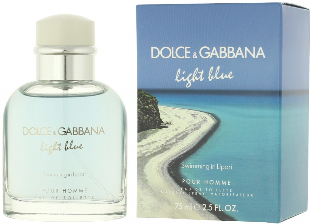 Dolce & Gabbana Light Blue Swimming in Lipari EDT 75 ml M