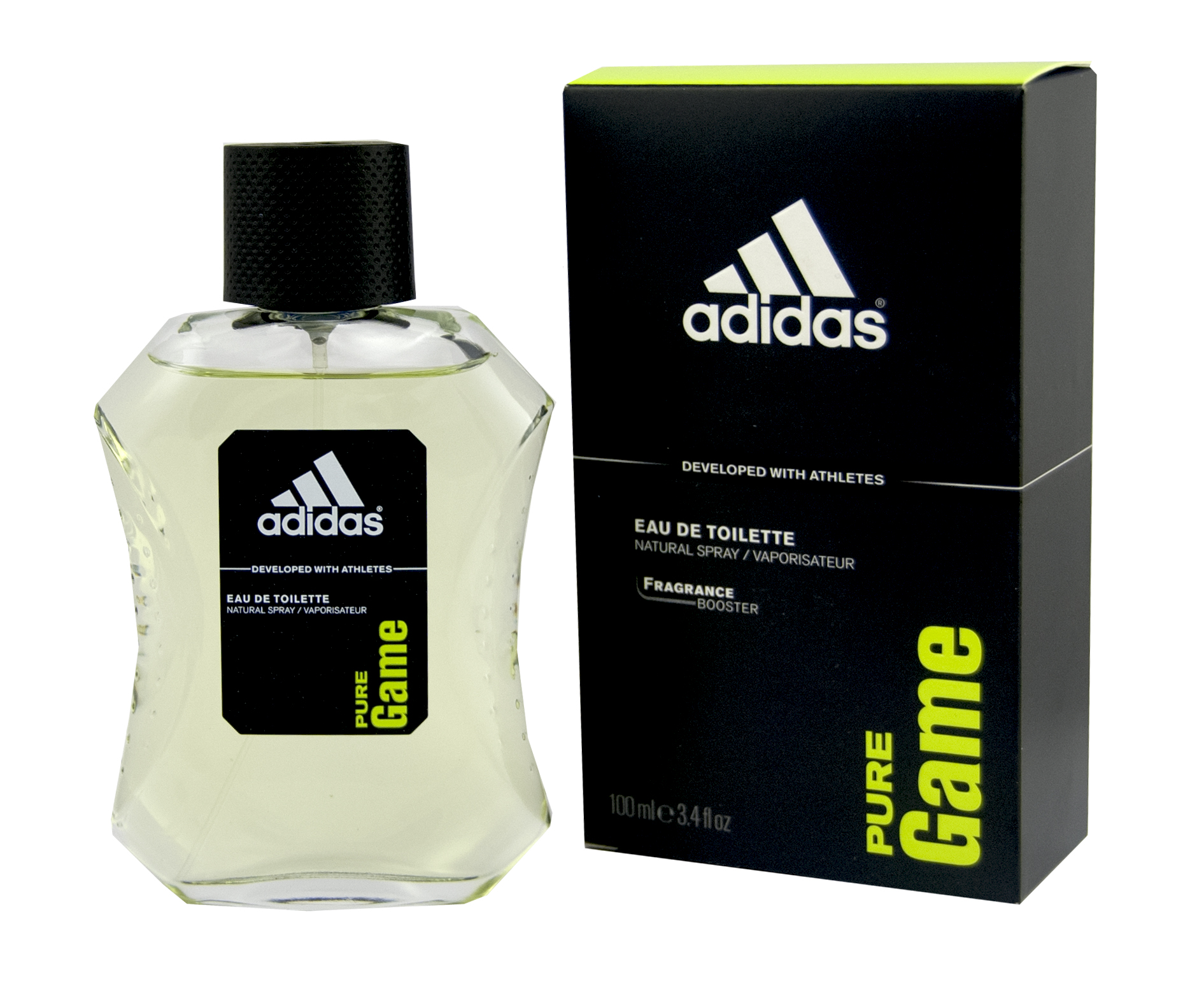 Adidas Pure Game Eau De Toilette 100 ml (man)