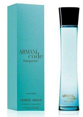 Giorgio Armani Code Turquoise Eau de Fraiche W EDT 75ml