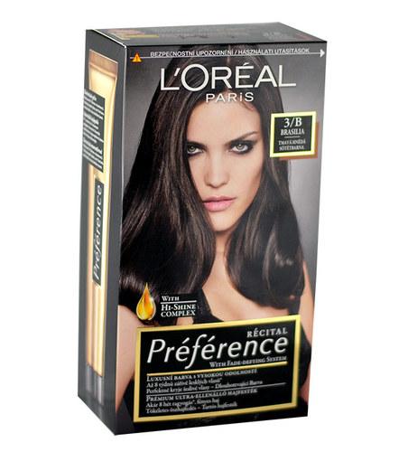 L´Oréal Paris Préférence Récital Hair Colour 1ks W