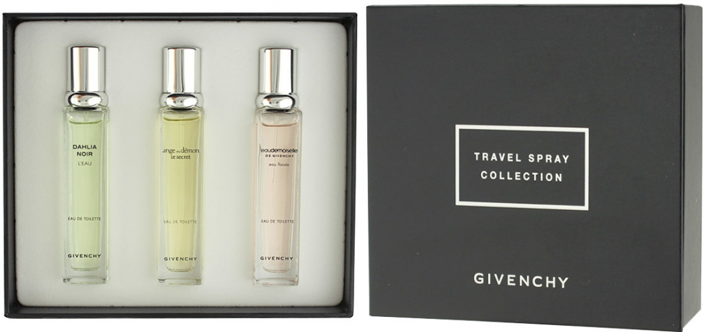 Givenchy Travel Spray Collection EDT 3 x 12,5 ml W