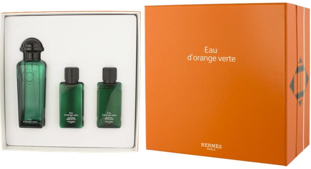 Hermes Eau D\'Orange Verte EDC 100 ml + SG 40 ml + BL 40 ml UNISEX