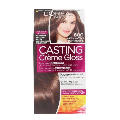 L´Oréal Paris Casting Creme Gloss 1ks W 600 Light Brown