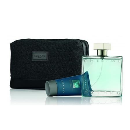 Azzaro Chrome M EDT 100ml + Hair&Body Shampoo 50ml + Bag SET