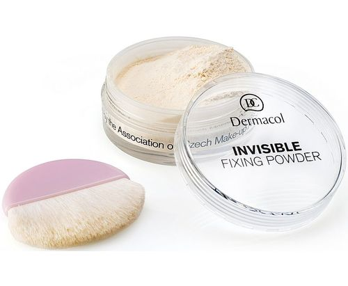 Dermacol Invisible Fixing Powder 13g W, odstín Natural