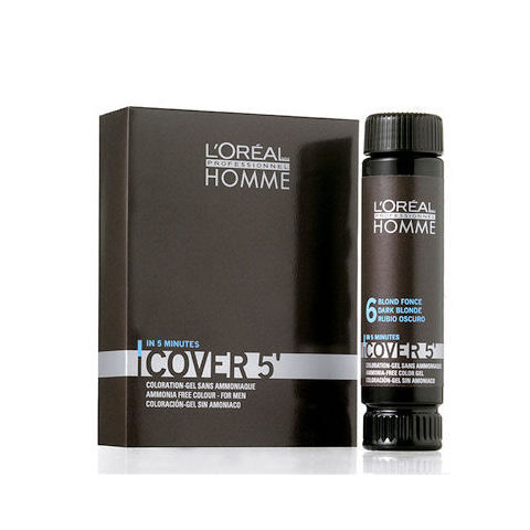 L'Oréal Professionnel Homme Cover 5 Hair Color 3x50ml M 6 Dark Blond
