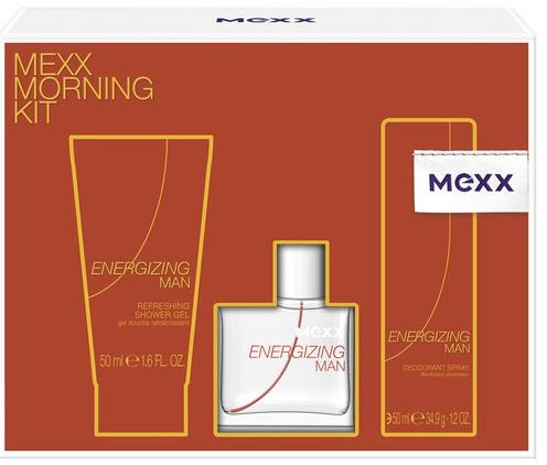 Mexx Energizing Man M EDT 30ml + SG 50ml + deodorant 50ml
