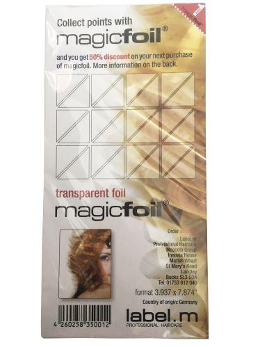 label.m Magic fólie 20cm x 500ks náplń do stojánku