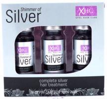 Xpel Shimmer Of Silver Hair Treatment Shots 3x12ml