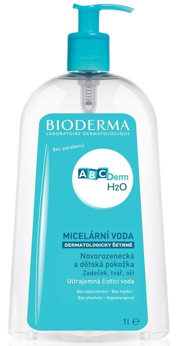 Bioderma ABCDerm H2O Micellar Water 1000ml