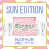 label.m Sun Edition Travel Set - Shampoo 60ml+Mask 60ml+Protein Spray 50ml+Oil 60ml