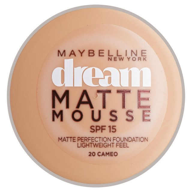 Maybelline Dream Matte Mousse SPF15 18ml - 20 Cameo