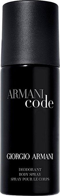 Giorgio Armani Black Code M Deodorant Body Spray 150ml